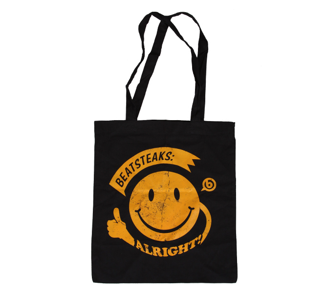 Beatsteaks Smiley Bag black