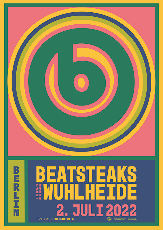 Beatsteaks 02.07.2022 Berlin, Parkbühne Wuhlheide Wheelchair user Print@Home Ticket incl. presale, CO2-compensation + public transport