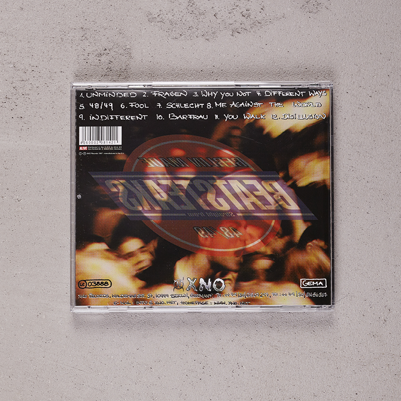 Beatsteaks 48/49 CD