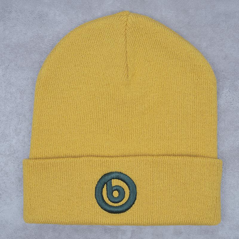Beatsteaks b-Beanie Wollmütze senfgelb