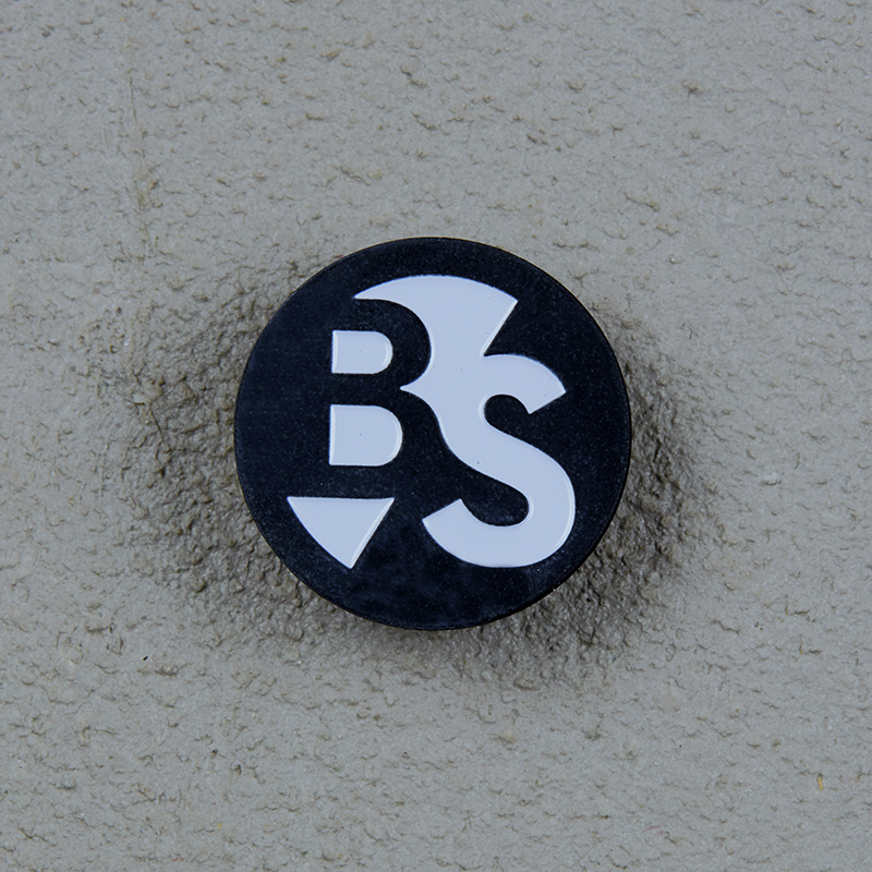 Beatsteaks B & S Pin black-white