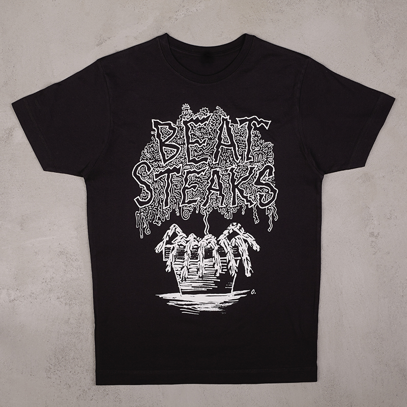 Beatsteaks Blumentopf T-Shirt black