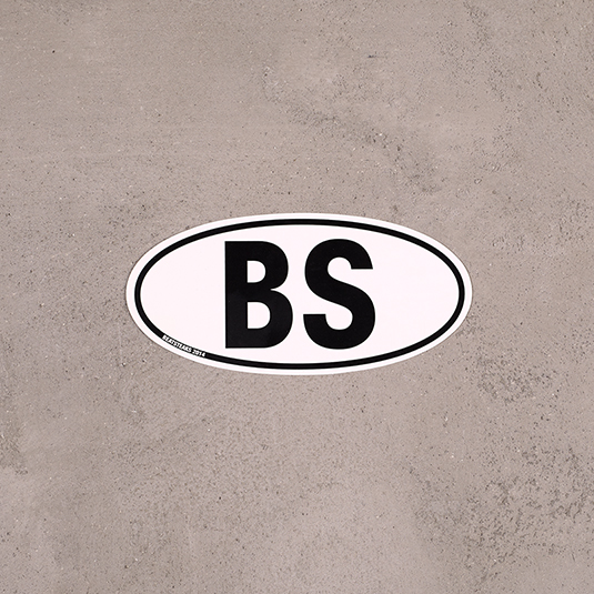 Sticker BS Car Sticker