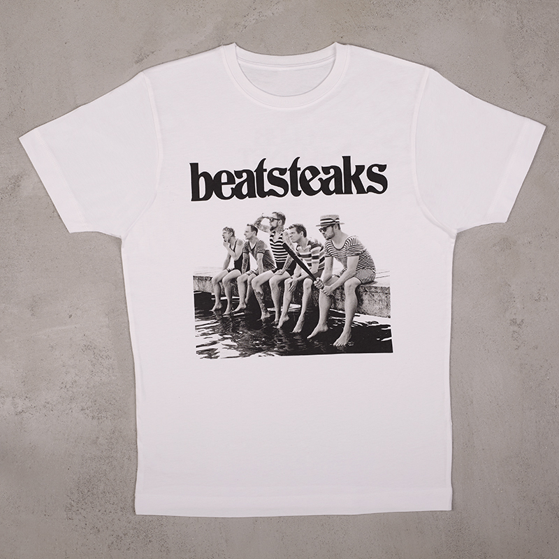 Beatsteaks Club Magnet Tourshirt T-Shirt white