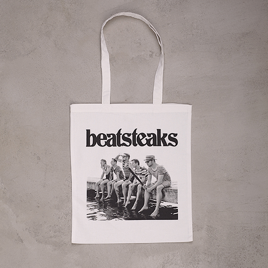 Beatsteaks Cover Bag white