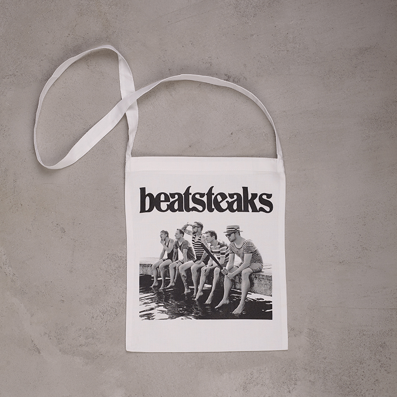 Beatsteaks Cover Slingbag Weiss