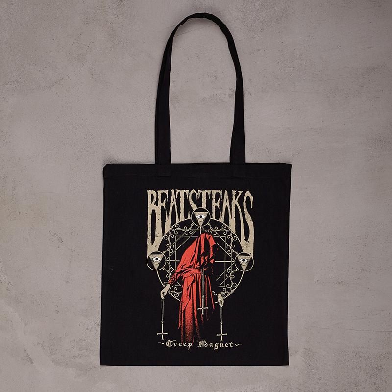 Beatsteaks Creep Magnet Beutel schwarz