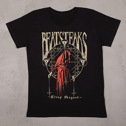 Beatsteaks Creep Magnet Girlie-Shirt Schwarz