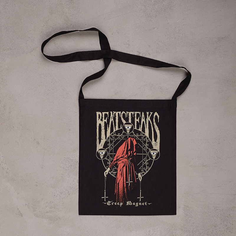 Beatsteaks Creep Magnet Slingbag Schwarz