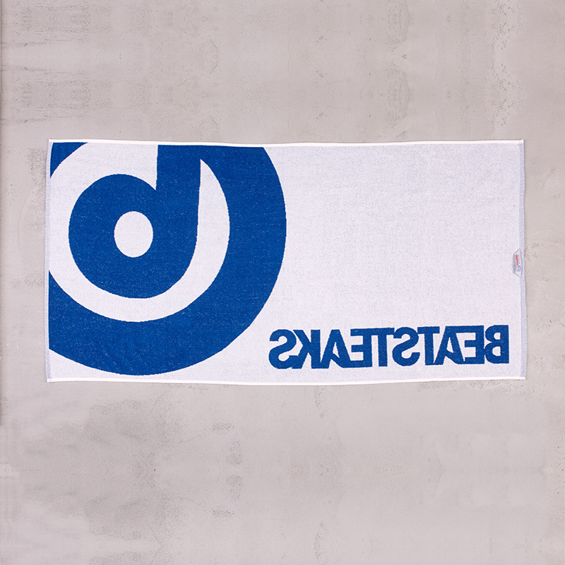 Beatsteaks the b Towel blue/white