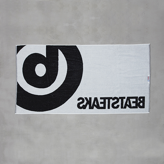 Beatsteaks das b Towel black / white