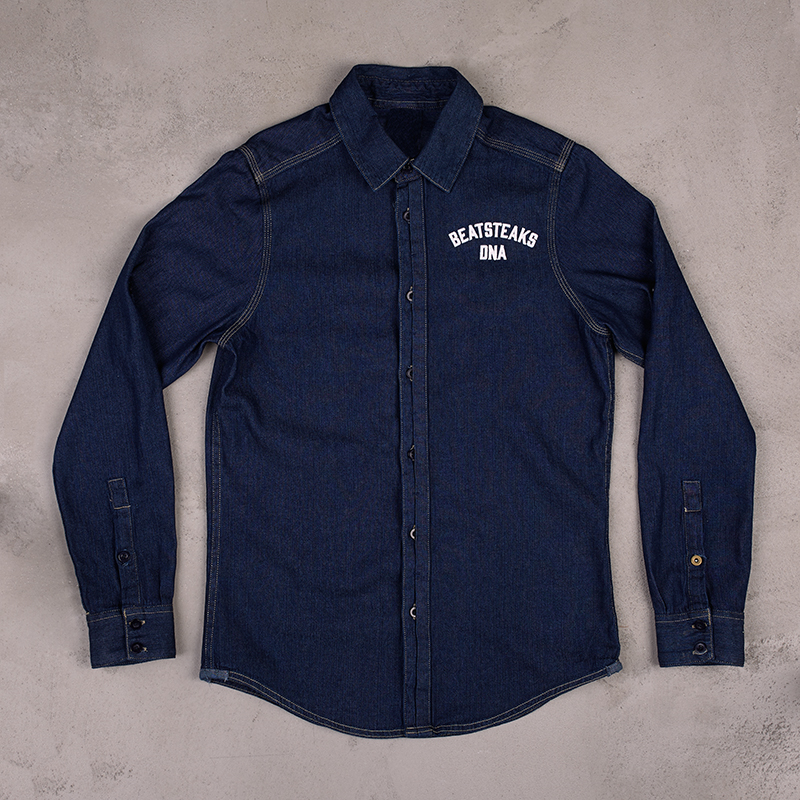Beatsteaks DNA denim shirt denim