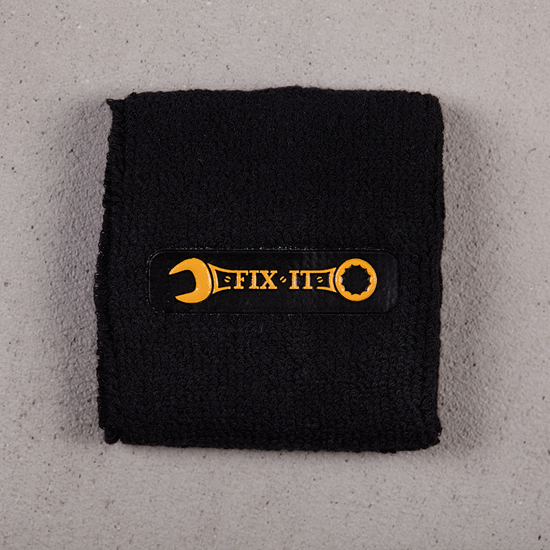 Beatsteaks fix it sweatband black/yellow