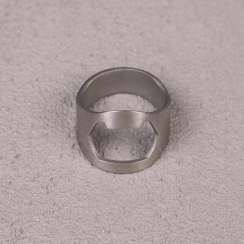 Beatsteaks bottle opener ring ring steel