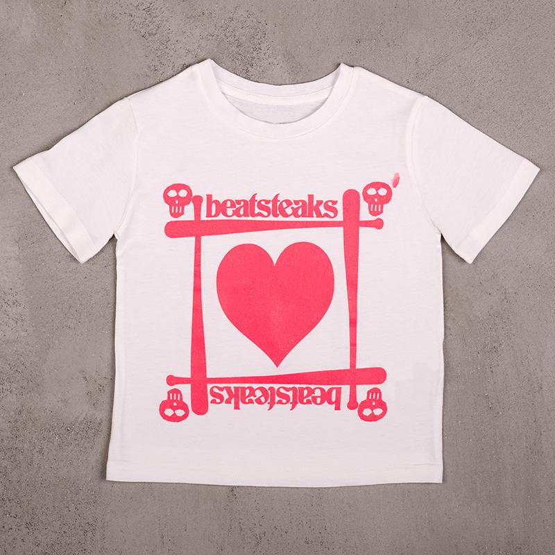 Beatsteaks Heart Kindershirt Weiß