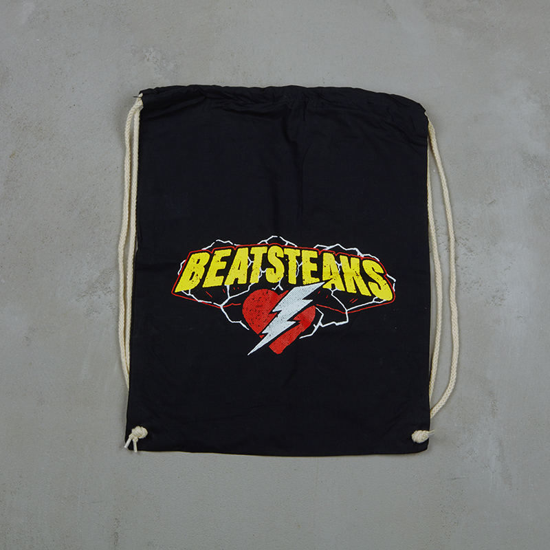 Beatsteaks Heart & Flash gym back black