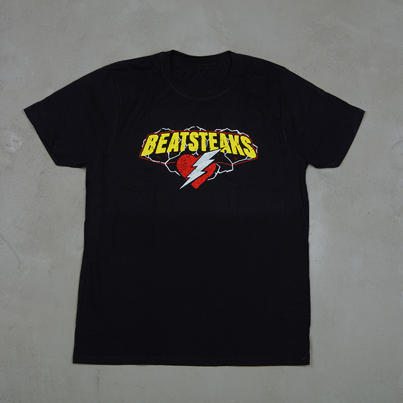 Beatsteaks Heart & Flash T-Shirt black