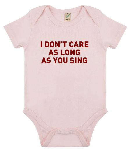 Baby Bodysuit I don't care