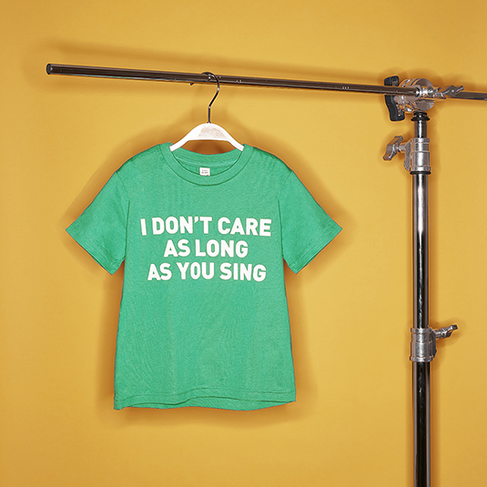 Kids-Shirt I don`t care