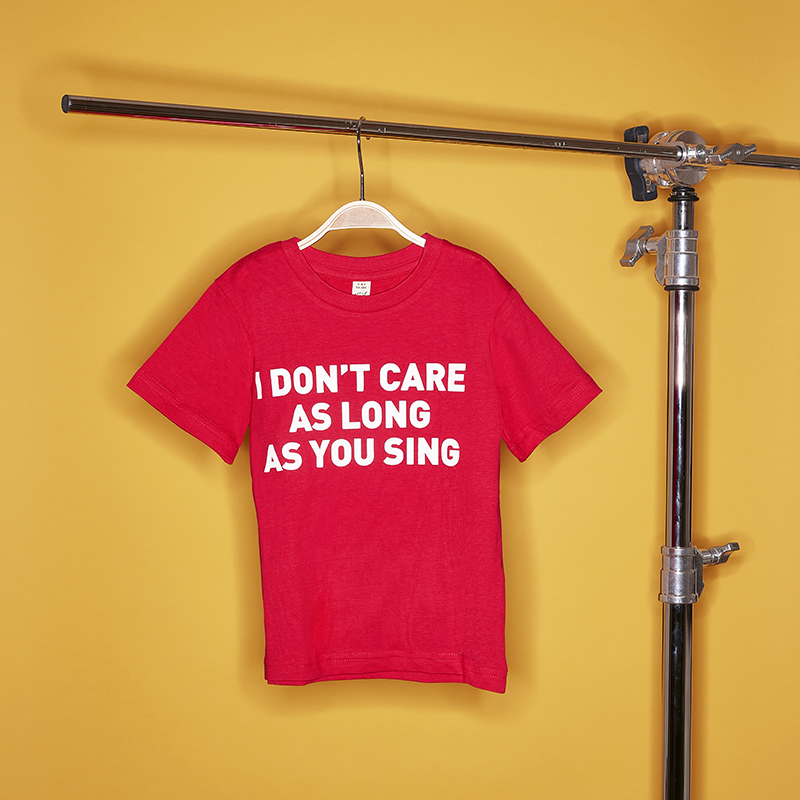 Beatsteaks I don`t care Kids-Shirt red