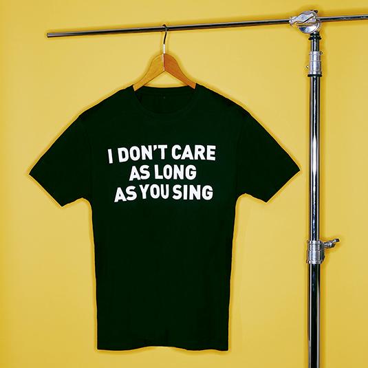 T-Shirt I don`t care