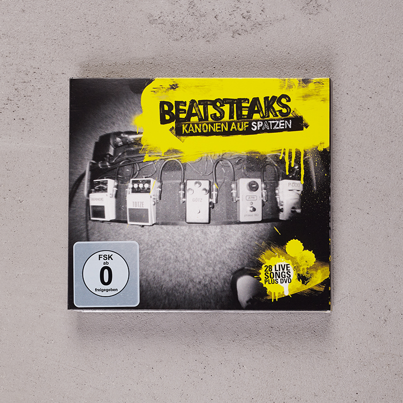 Beatsteaks Kanonen auf Spatzen (Deluxe) CD