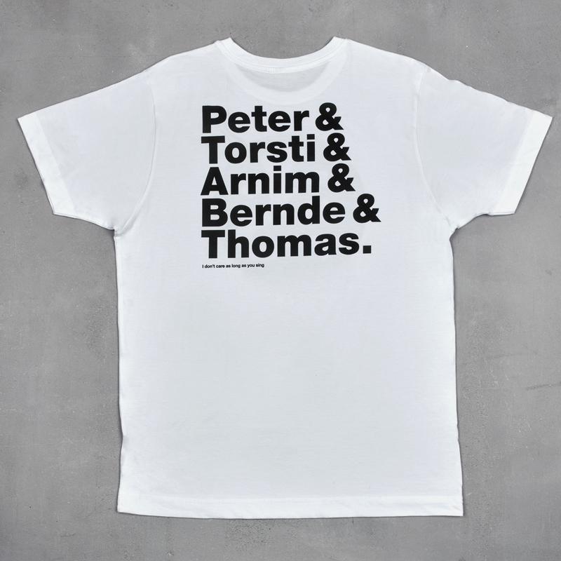Beatsteaks Kreis T-Shirt Weiss