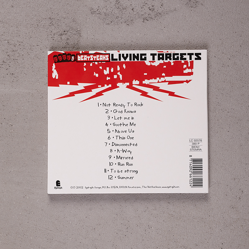 Beatsteaks Living Targets CD