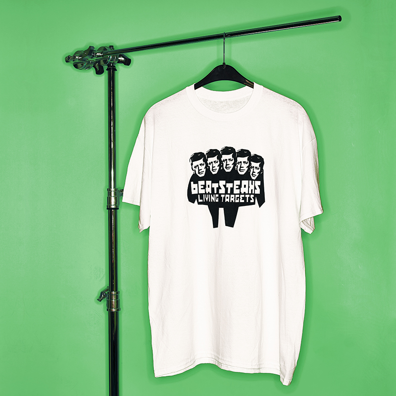Beatsteaks Living Targets T-Shirt white/black