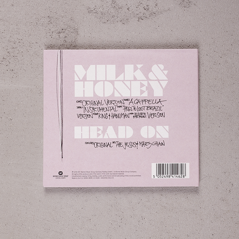 Beatsteaks Milk & Honey CD