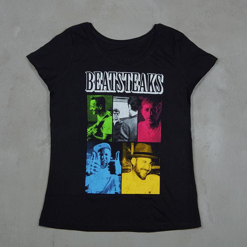 Beatsteaks Mosaik Girlie-Shirt black
