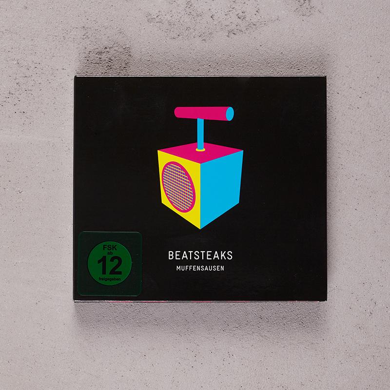 Beatsteaks Muffensausen - CD format DVD/CD