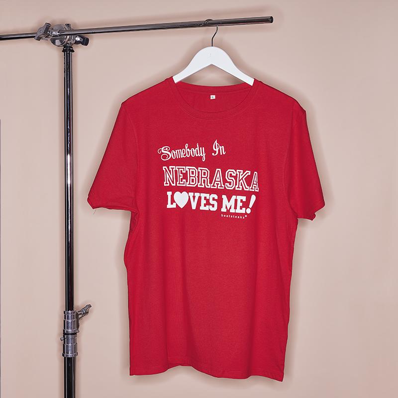 Beatsteaks Nebraska T-Shirt rot