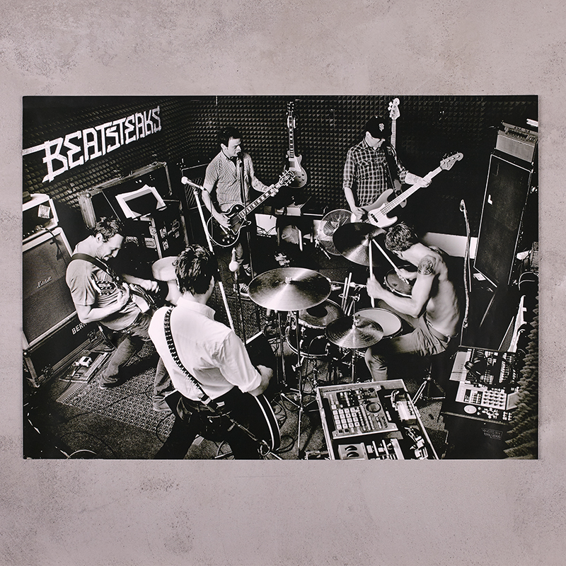Beatsteaks Proberaum Poster