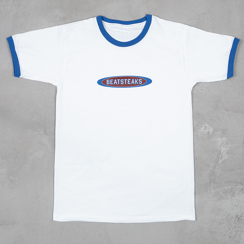 Beatsteaks No. 1 T-Shirt white-royal blue