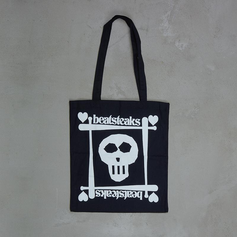 Beatsteaks Skull/Heart Bag black