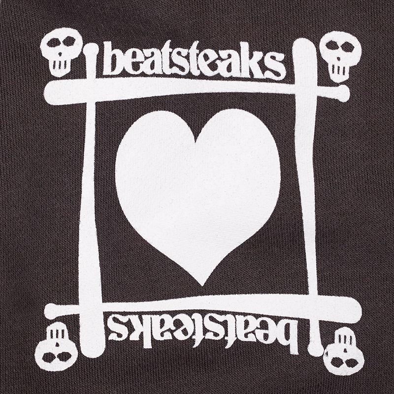 Beatsteaks Skull/Heart Zipper grey
