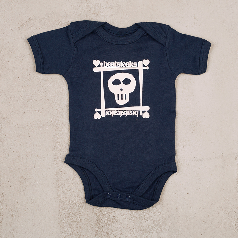 Beatsteaks Skull Rompers navy