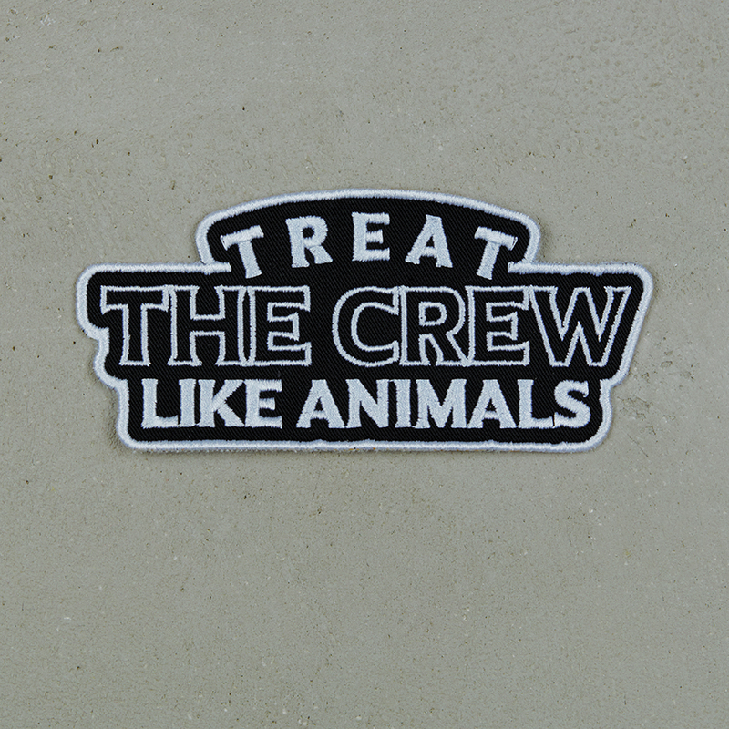 Beatsteaks Treat the Crew Patch