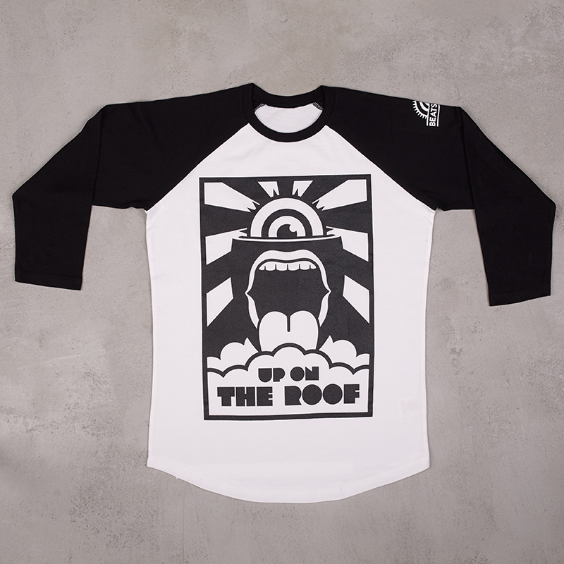 Beatsteaks Up on the Roof 3/4 Longsleeve black/white