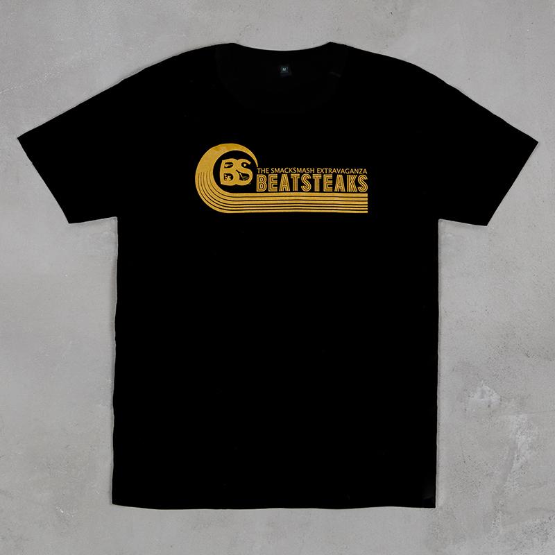 Beatsteaks Welle T-Shirt black-yellow
