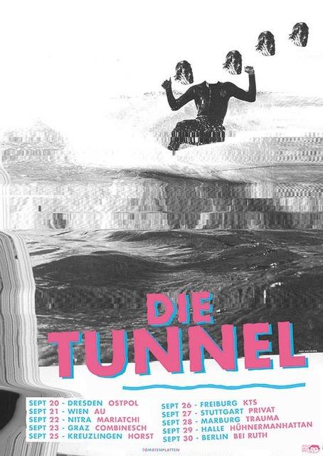 Die Tunnel Die Tunnel - Siebdruck-Cover 12inch