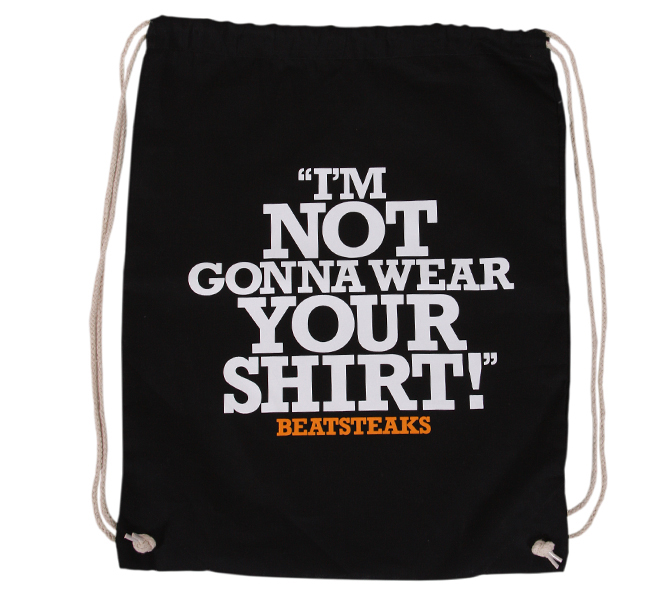 Beatsteaks Shirt Bag black