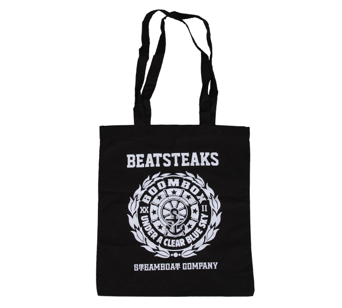 Beatsteaks Steamboat Bag black